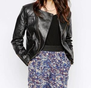 ASOS leather