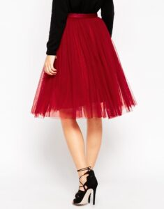 Needle & Thread Tulle Ballet Midi Skirt