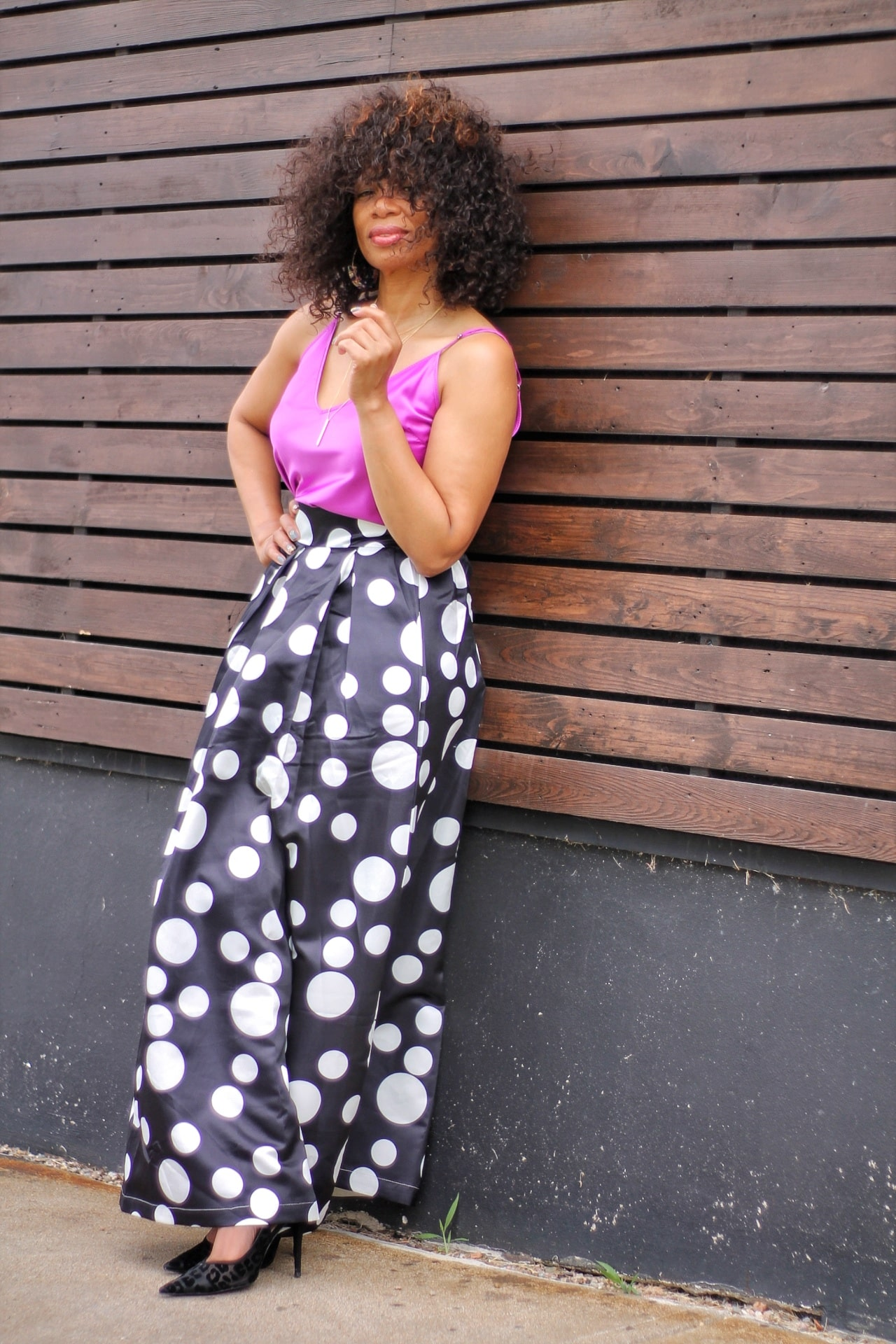 Polka-Dot-Print-Maxi-Skirt-Amazon